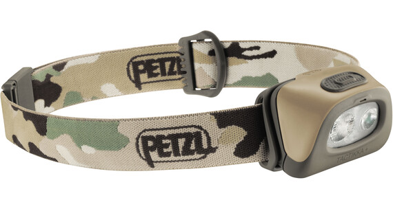 Petzl TacTikka +RGB Headlamp camo